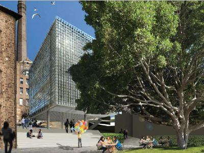 Adaptive re-use and revitalisation of the Campbell's Stores, at 7-27 Circular Quay West, The Rocks
